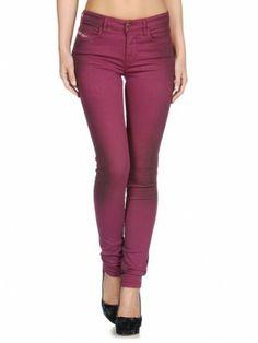 Jeans Diesel Women's Skinzee 0815X Violet #Diesel#Jeans