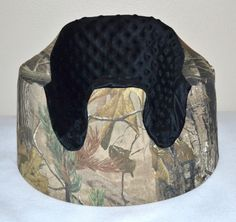 Realtree Baby Bumbo Seat Cover. $25.00, via Etsy. I wonder if it comes in pink camo?