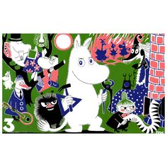 Moomin Prints