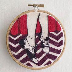 #workshop #embroidery #punchneedle #patch #embroideredpatch #patchwork #twinpeaks #audreyhorne #audreyhorneshoes #blacklodge #punchneedleart #punchneedleembroidery #agujamagica #laagujamagica #bordadoruso #bordado #ruso #stitch #stitchinglines  #madehand #agujamagicaparatodos #agujamagicachile