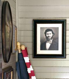 painted Gettysburg Gray by Benjamin Moore