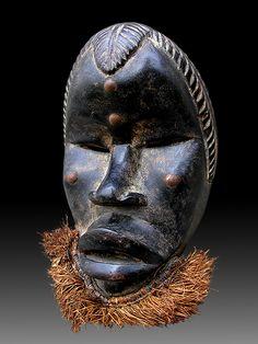 Liberia, African Masks, African Art, Baron Samedi, Papa Legba, Tragedy Mask, Art Africain, Voodoo Dolls, Ivory Coast