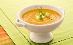 Soupe à la courge poivrée rôtie