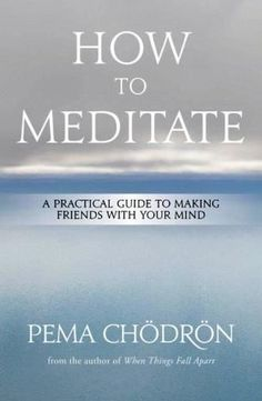 How to Meditate by Pema Chodron