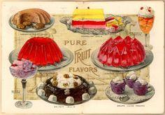Antique Jello ad