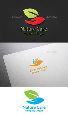 Nature Care Logo by design_big Available in EPS 10 & AI 10 Vector format CS format fully editable Easy to change text and color Resizeable Use free font Font li
