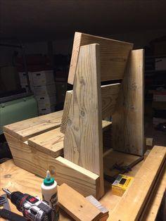 Wood Pallet Furniture, Diy Furniture Projects, Woodworking Projects Diy, Woodworking Furniture, Diy Wood Projects, Woodworking Organization, Woodworking Garage, Wood Design, Pocket Hole