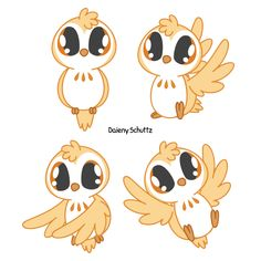 Adorable Owl by Daieny.deviantart.com on @DeviantArt