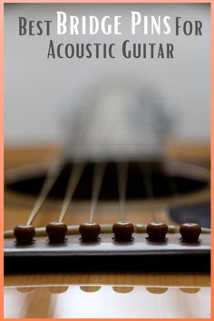 Bridge pins are perhaps one of the most overlooked parts of a guitar. With your acoustic guitar armed with the right bridge pins, you can produce an enhanced clarity and tonal quality that's a far cry from how it originally sounds. In this article, we'll introduce you to the best bridge pins for acoustic guitar. Types Of Guitar, Best Acoustic Guitar, Guitar Pins, Guitar Accessories, Guitar For Beginners, Music Theory, Guitar Lessons, Musical Instruments, How To Introduce Yourself