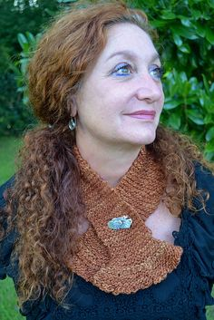 Knitting Patterns Galore - Organic Scarf
