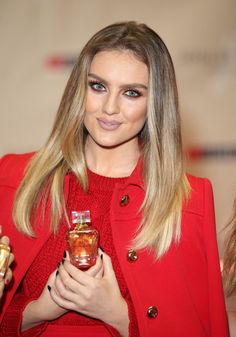 Pin for Later: 22 Stars Who've Taken Their Blonde to the Dark Side Perrie Edwards