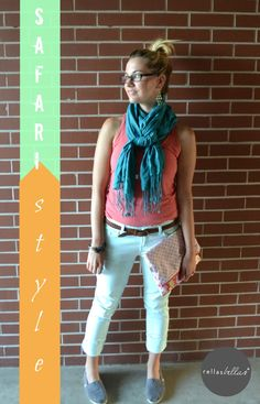 Check out @rellasbellas Safari Inspired Style, affordable and fab accessories from @WorldMarket