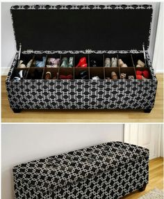 I want one custom designed for me with my own upholstry selection. Actually one for each room. #Storageideas