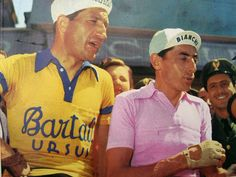 Gino Bartali y Fausto Coppi by bilobicles bag, via Flickr