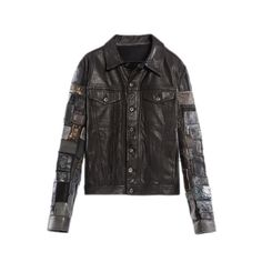 #diesel leather jacket -- this is a #guys #jacket ... but screw it, it's still amazing ... Behlor
