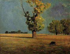 Odilon Redon Paintings | Peyrelebade Landscape