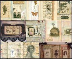Collage Coterie Workshop - Images, Ideas and Prompts for Vintage Collage