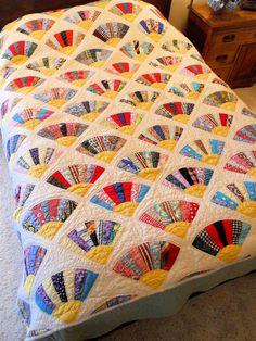 150 best fan quilts images on pinterest comforters pointe shoes
