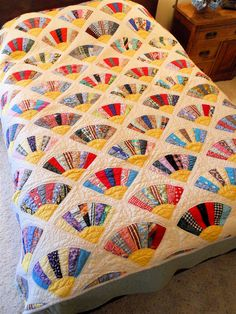 """Fan quilt""...love this!"