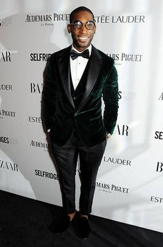 Fabulously Spotted: Tinie Tempah Wearing Dolce & Gabbana - Harpers Bazaar Women Of The Year Awards - http://www.becauseiamfabulous.com/2013/11/tinie-tempah-wearing-dolce-gabbana-harpers-bazaar-women-of-the-year-awards/