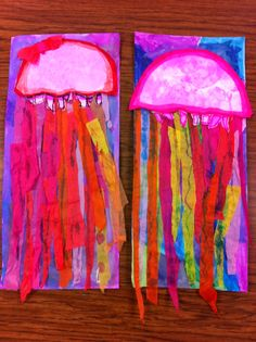 Drip, Drip, Splatter Splash: Bubbles and Jellyfish
