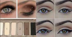 Pour ne plus galérer devant votre miroir. Coin, Make Up, Cat Eyes, Make Up Courses, Makeup Techniques, Cosmetic Brush Set, Daily Makeup, Makeup, Beauty Makeup
