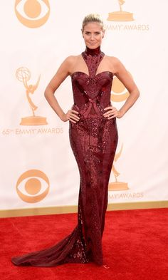 Best Dressed at the 2013 Emmy Awards: Bright Colours