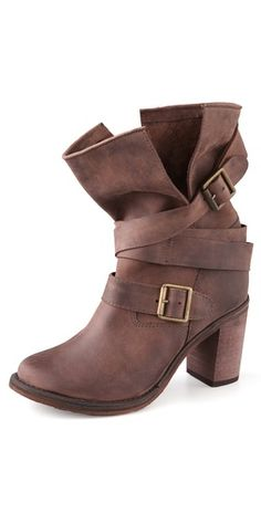27ad5895bd6 Jeffrey Campbell France Wrap Strap Boots