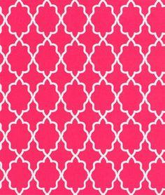 Michael Miller Moroccan Lattice Pink Fabric | onlinefabricstore.net