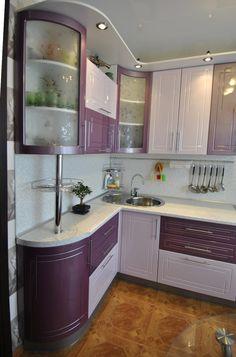 "Résultat de recherche d'images pour ""маленькая угловая кухня"""