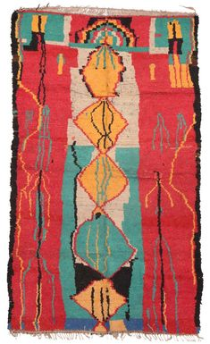 Moroccan Vintage Rugs Number 16744, Vintage Rugs   Woven Accents