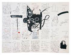 **************************************Jean-Michel Basquiat Artist Untitled Drawing Painting Brooklyn Museum New York Basquiat Artist, Brooklyn Museum Of Art, Lord, Life Paint, Jean Michel Basquiat, Art Abstrait, Cairo, American Artists, Art Museum