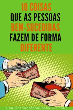 10 Coisas Que Pessoas Bem-sucedidas Fazem De Forma Diferente - Comic Books, Successful People, Work Ethic, Pay Off Debt, Take Responsibility, Meaning Of Dreams, Different Shapes, Souvenir, Cartoons