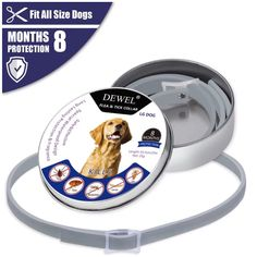 Best Price Dewel All Cat Dog Collar Anti Flea Ticks Mosquitoes Outdoor Protective Adjustable Pet Collars 8 Months Long-term Protection Les Parasites, Jiff Pom, Pet Dogs, Dog Cat, Ticks On Dogs, Mosquitos, Buy Pets, Flea And Tick, Pets