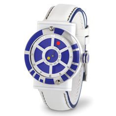 Star Wars: Wristwatch by Hammacher Schlemmer Star Wars Gadgets, Cool Gadgets, Tech Gadgets, R2 D2, For Stars, Nerdy, Geek Stuff, Cool Stuff, Hammacher Schlemmer