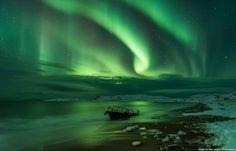 Auroras boreales desde Teriberka, Rusia – El Universo Hoy