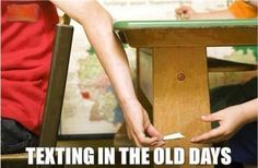 Hilarious images of the week -65 pics- Texting The Old Days