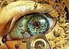 I thought you'd like this steampunk eye...