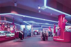 Shopping Mall. #interior_design #80s #consumerism #retro