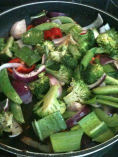 Grønnsaker må vi ha