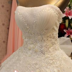 Luluu0027s Gown New Custom Size Wedding Dress 2 4 6 8 10 12 14 16 18 20 22