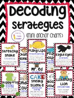decoding strategies posters - Google Search | daily 5 | Pinterest ...