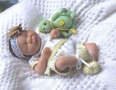 One of a kind, hand sculpted,polymer clay, baby girl by DreamSculpt Art Dolls  | eBay