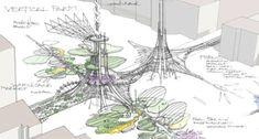 Futuristic London Bridge Sprouts Solar Powered Vertical Farm | Inhabitat - Green Design, Innovation, Architecture, Green Building