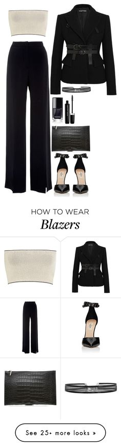 """""""Untitled #1847"""" by samikayy76 on Polyvore featuring Calvin Klein Collection, Jeffrey Dodd, Valentino, Tom Ford, Victoria Beckham and Marc Jacobs"""