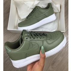 This is acc my first pair of Air Force 1's  link in bio