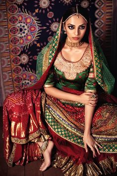 http://www.RituKumar.com/ Beautiful #Lehenga makes any girl feel like a princess!
