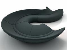 Walter Knoll Circle 3d model   Ben van Berkel