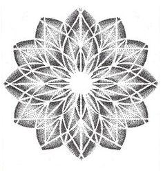Tattoo geometric flower sleeve sacred geometry 54 Ideas for 2019 Elbow Tattoos, Dot Tattoos, Dot Work Tattoo, Flower Tattoos, Sleeve Tattoos, Geometric Mandala, Geometric Flower, Mandala Dots, Dotwork Tattoo Mandala