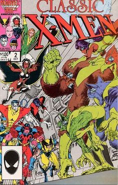 Classic X-Men #2 by Arthur Adams
